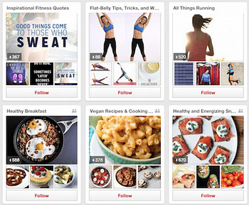 Popsugar Pinterest Pins example