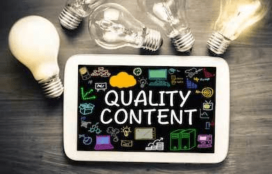 Quality Content Build Authority