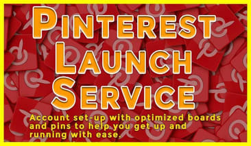 Pinterest Launch Service