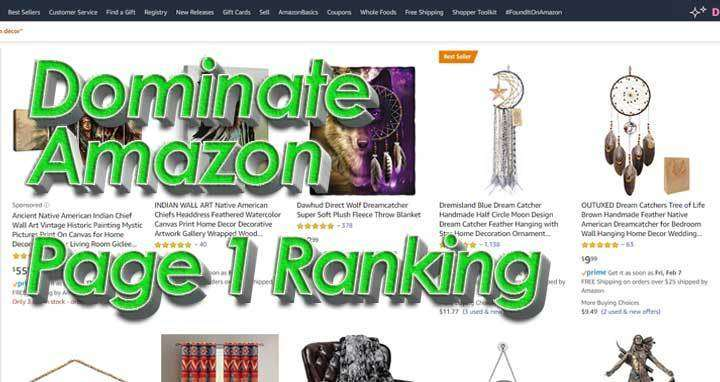 Rank On Page One Of Amazon – Ultimate Guide [ 2018 ]