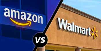 How is Walmart different from Amazon?