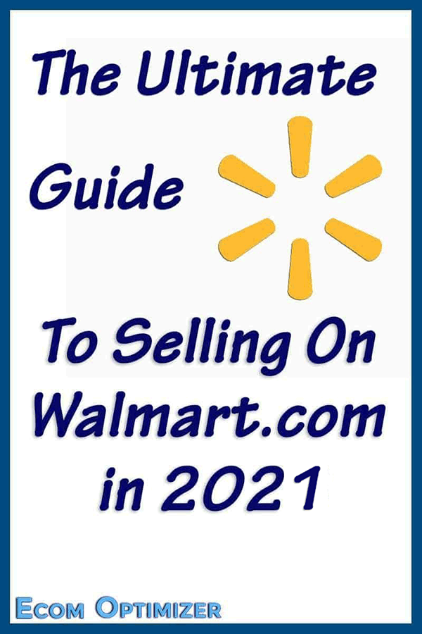 Selling On Walmart